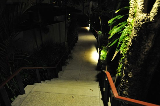 Nakamanda Resort & Spa: Steps to room