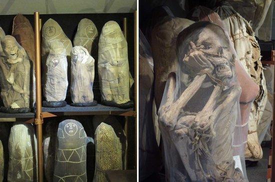 Museo de Leimebamba: Mumiensammlung