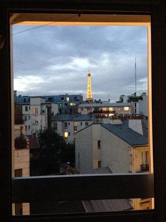 Ibis Tour Eiffel Cambronne : View from room