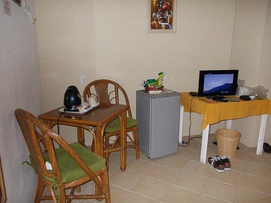 Quo Vadis Dive Resort: sitting area