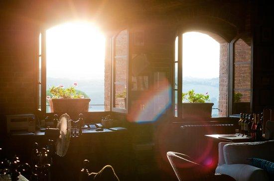 Morning sun shining through the windows into the common for Sunlight windows
