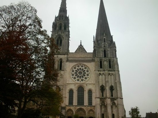 Chartres Cathedral: torri