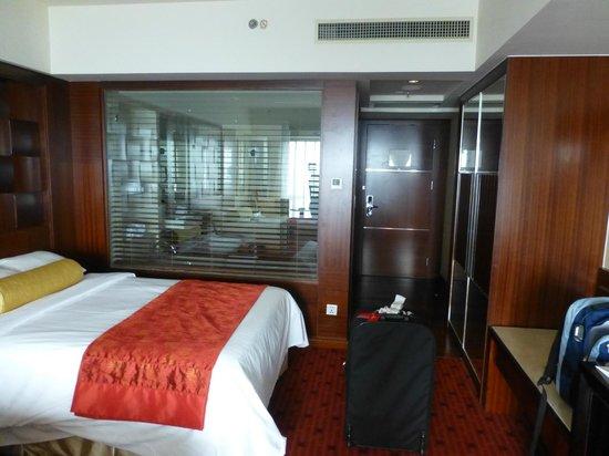 Beijing Marriott Hotel City Wall: Our room