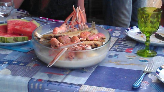 Camping le sous bois : Fresh fish from the port