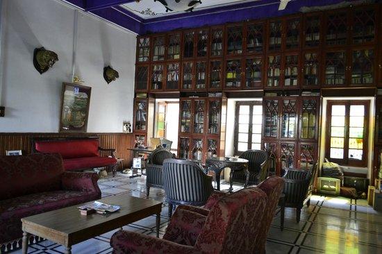 Rangniwas Palace Hotel : Lounge