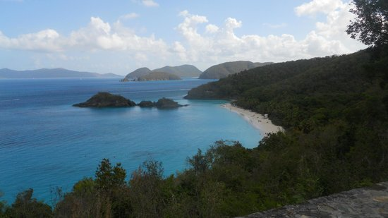 Trunk Bay: Truck Bay Beach, St. John Island, U.S. Virgin Islands