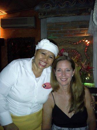Maria Jimenez Restaurante Mexicano: The owner - very sweet