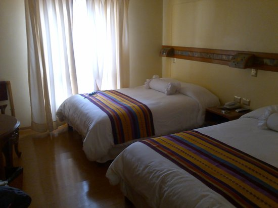 Foto de hotel taypikala cusco cuzco lindas camas grandes con hermosas pieceras tripadvisor - Camas grandes ...