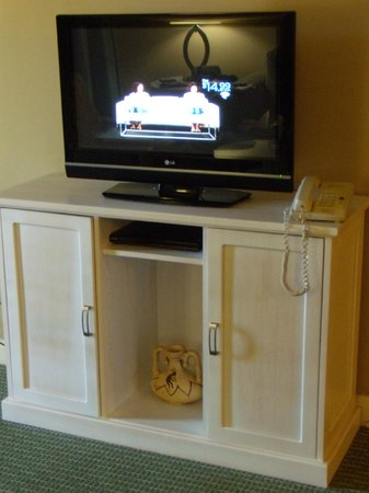 Palm Canyon Resort & Spa: Flat tv in living room
