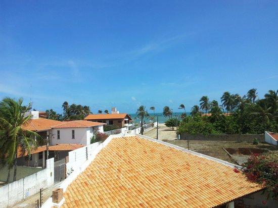 Cumbuco Guesthouse : von der Terrasse