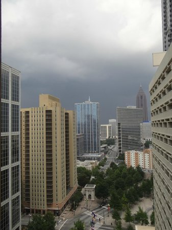Hyatt Regency Atlanta: Daytime view from 19th floor