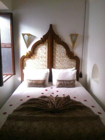 Riad Argan: otra foto de la cama