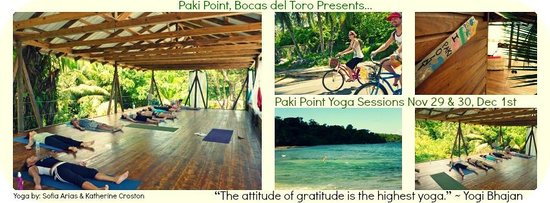 Paki Point : Yoga Workshops