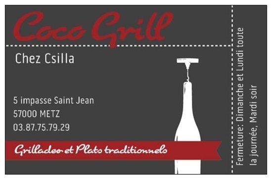 Restaurant coco grill