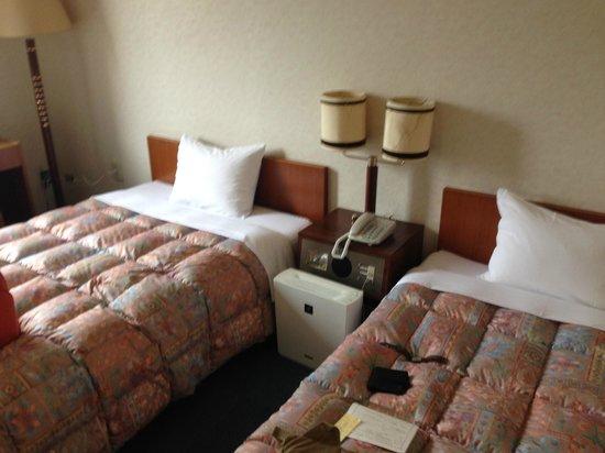 Aqua Garden Hotel Fukumaru: Bedroom