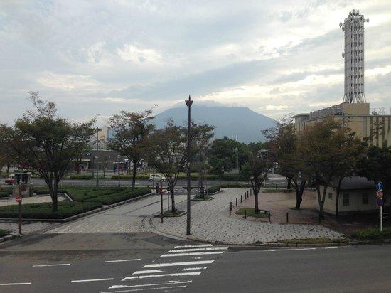 Aqua Garden Hotel Fukumaru: View from the breakfast room