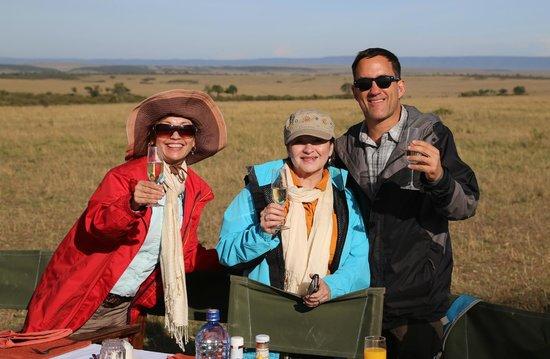 Hot Air Safaris: Cheers !!