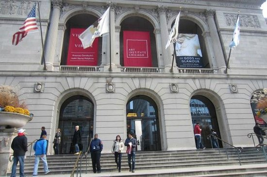 The Front Of The Building Main Entrance Off Of Michigan Ave Picture Of The