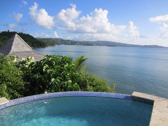Calabash Cove Resort and Spa : Plunge pool