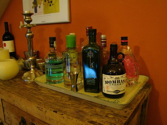 El Acebo de Casa Muria: surtido de ginebras