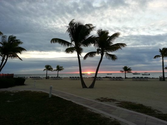 Islander Resort, a Guy Harvey Outpost: Sunrise photo taken outside back porch of room 213