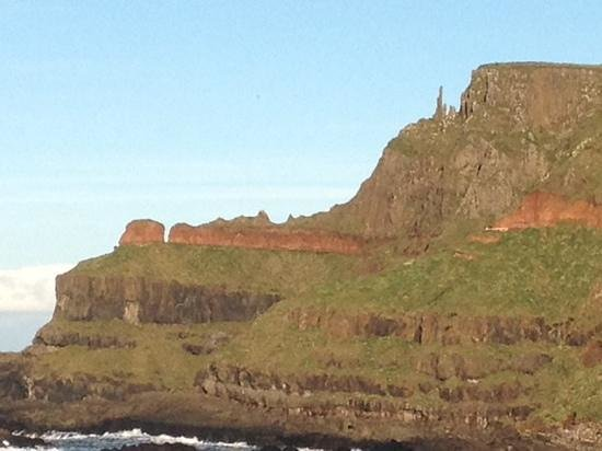 The Bushmills Inn Hotel: view from The Giants Causeway