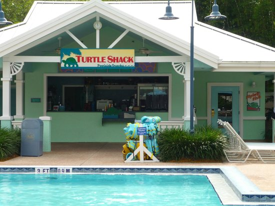Disney's Old Key West Resort : Turtle Shack Pool