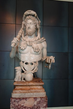 Musei Capitolini: Commodus as Heracles