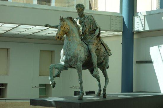 Musei Capitolini: original bronze of Marcus Aurelius