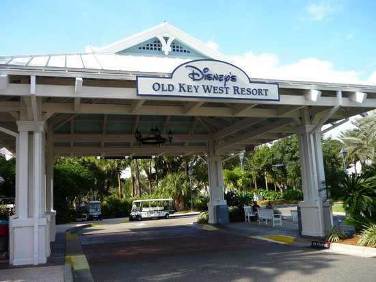 Disney's Old Key West Resort: hospitality house entrance
