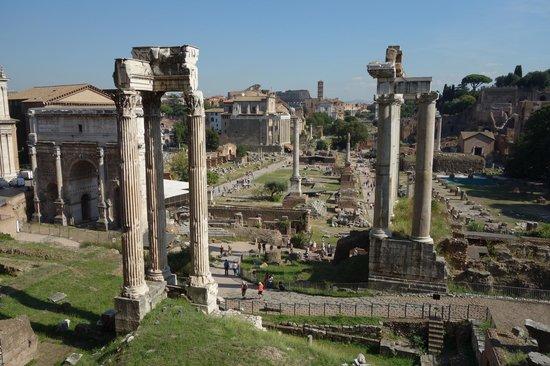 Musei Capitolini: view of the Roman Forum