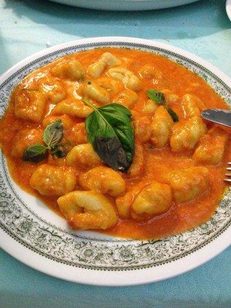 Ristorante Al Grottino: Nhoque MARAVILHOSO!!! Super saboroso e leve!!!!!