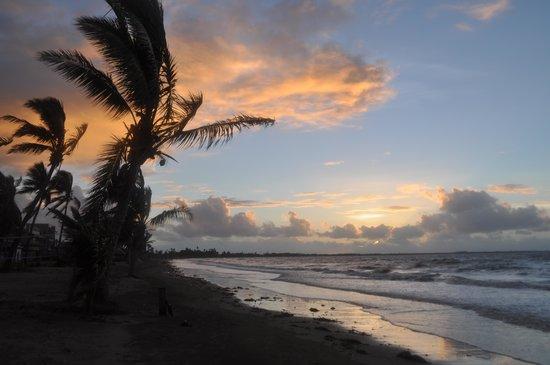 Aquarius On The Beach: Vista da praia ao entardecer