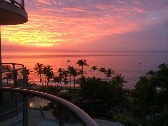 The Westin Maui Resort & Spa: Another View from the ninth floor Ocean View Room