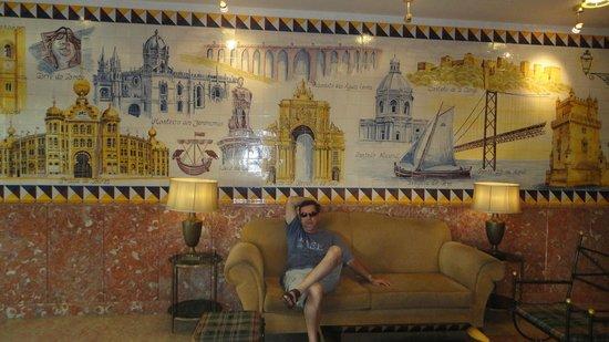 Turim Lisboa Hotel: HALL