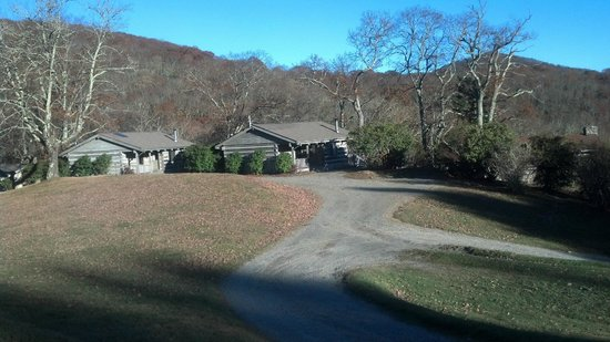 The Cataloochee Ranch: Some of the cabins