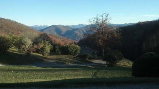 The Cataloochee Ranch: View of surrounding mountins
