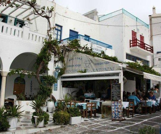 Taverna Antonini, Mykonos