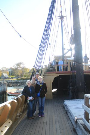 Mayflower II: Aboard the Maylower II
