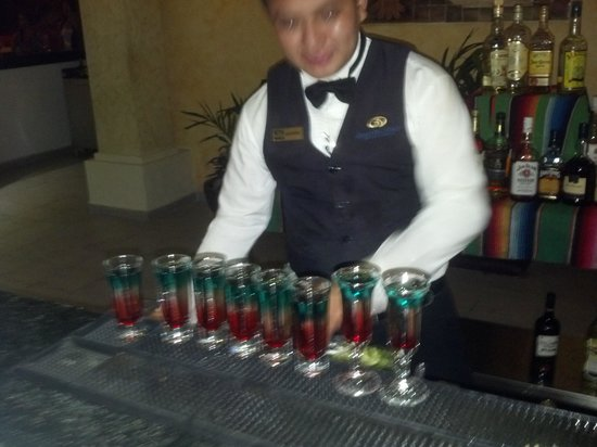 Grand Palladium White Sand Resort & Spa: mexican welcome drink