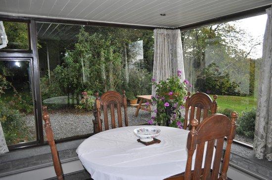 Lough Owel Lodge: Breakfast area