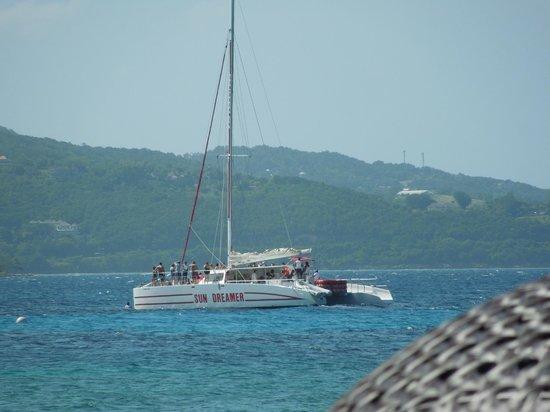 Secrets Wild Orchid Montego Bay: Booze boat