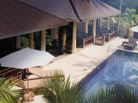 Sibaja Palms Sunset Beach Resort : uitzicht vanuit een villa