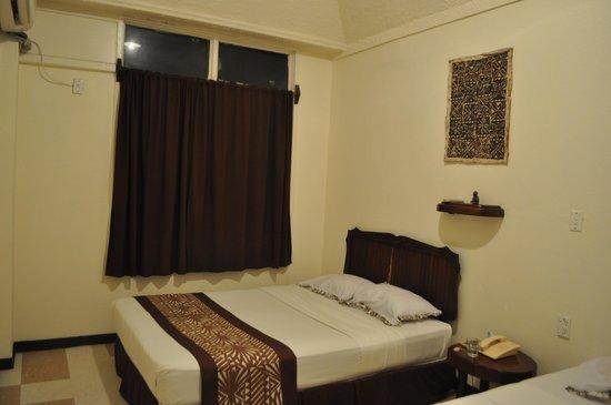 Pasefika Inn: O quarto do hotel