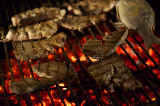 Baraka Beach Resturant: Grilled selection