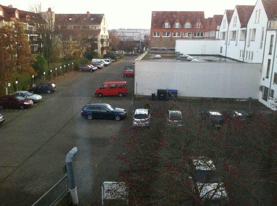 Comfort Hotel Frankfurt Karben: Outside my room