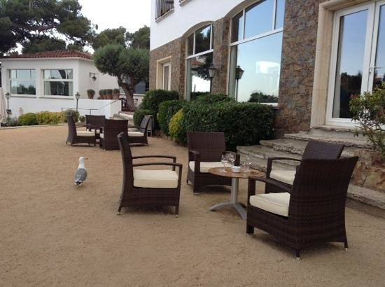 Silken Park Hotel San Jorge : terraza