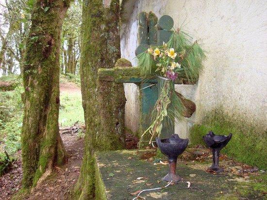 Huitepec Ecological Reserve: Wallfahrtskapelle auf dem Gipfel