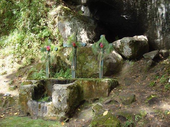 Huitepec Ecological Reserve: Kreuzweg am Huitepec