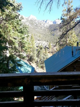Mt. Charleston Lodge: View from the cabin deck